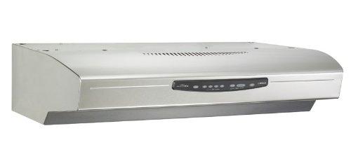 Broan QS330SS QS3 Series Range Hood, 30 Inch, Stainless Steel