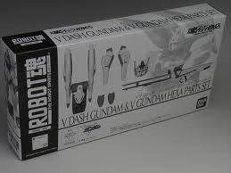 ROBOT魂 <SIDE MS> Vダッシュガンダム&ガンダムヘキサ パーツセット「機動戦士Vガンダム」