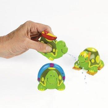 Beach Turtle Squirts - Summer & Water Toys by Oriental Trading Company [並行輸入品]   B01JBC8MHU