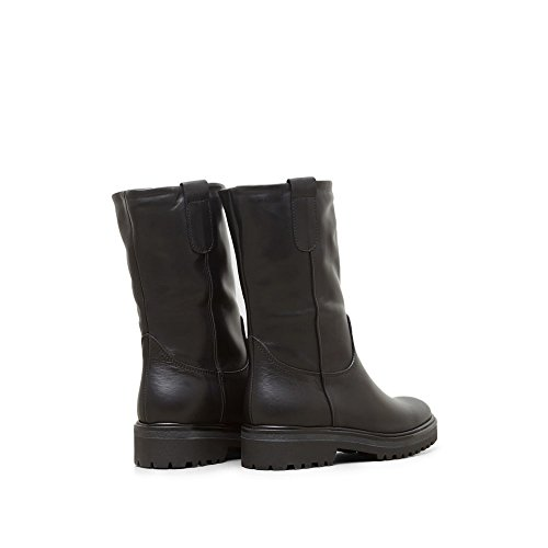 Kenneth Cole New York Oliano Höga Läder Boot - Kvinna Svart