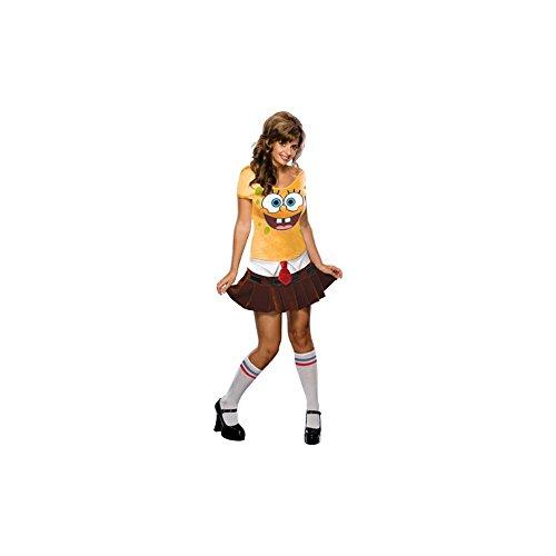 [SpongeBabe Costume - Medium - Dress Size] (Spongebob Dress)