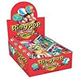 Topps Ring Pop Twisted Fruit Pop Candy - 24 Ea