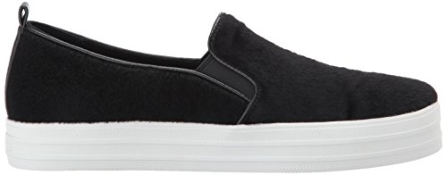 mujer Para Skecher Negro sintético Street Up cuero Double XBXxC