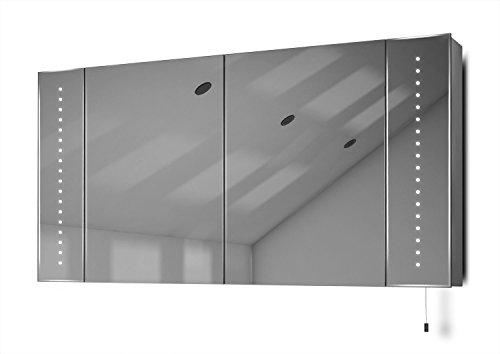 Karma LED Battery Bathroom Mirror Cabinet Pull Cord k144 (Shaving Mirror Pull)