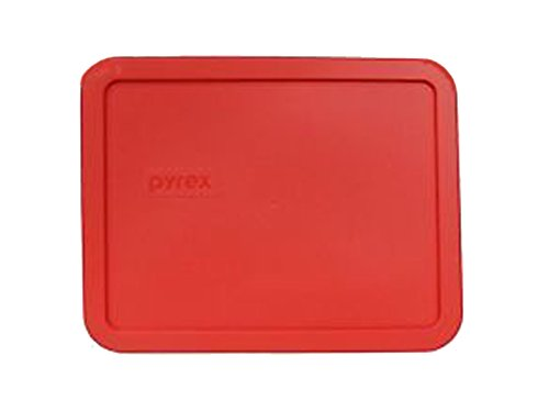 PYREX Red 6-cup Rectangular Plastic Cover 7211-pc (1 Pack)