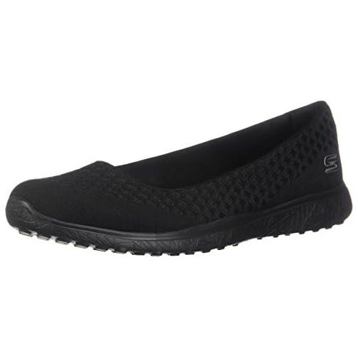 Skechers Microburst One Up Slip On Casual Shoe Black