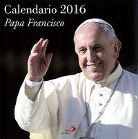 Calendario Papa Francisco 2016