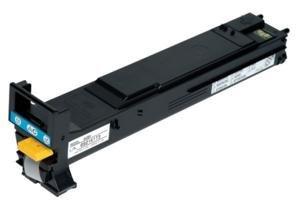 Konica Minolta magicolor 5570 Cyan High Capacity Toner (12000 Yield) - Genuine OEM toner (Cyan Toner 5570)