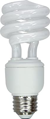 GE Lighting 47435 Energy Smart Spiral CFL 15-Watt (60-watt replacement) 950-Lumen T3 Spiral Light Bulb with Medium Base, 1-Pack