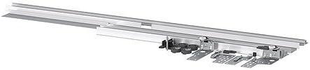 IKEA INTEGRAL - Rail w herrajes para puertas correderas - 120x92 cm: Amazon.es: Hogar