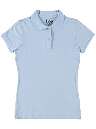 Uniform L/s Polo - LEE Uniforms Standard Fit S/S Pique Polo - Blue, l