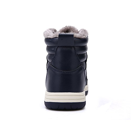 Warm Lining Lightweight RUN 9927m Ankle Boots navy Booties Outdoor Fur L Winter Snow Mens U0wznPpFq