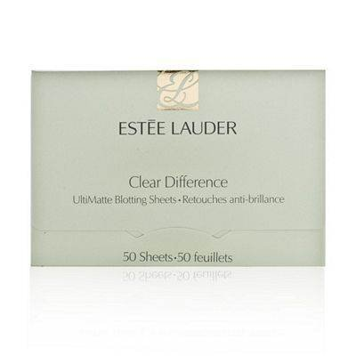 Estee Lauder Clear Difference UltiMatte Blotting Sheets 50 sheets by Estee Lauder