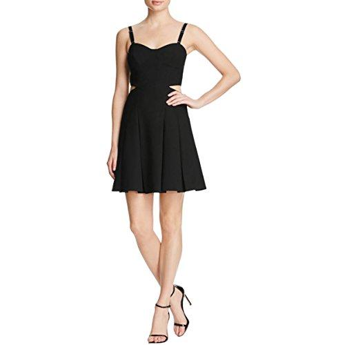 Elizabeth and James Women's Peony Bustier Cutout Dress, Black, (Elizabeth And James Dresses The Black Dress)