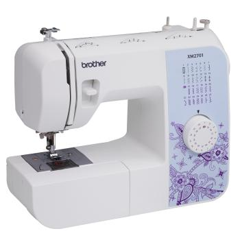Brother XM2701 Lightweight, Full-Featured Sewing Machine with 27 Stitches, 1-Step Auto-Size Buttonho