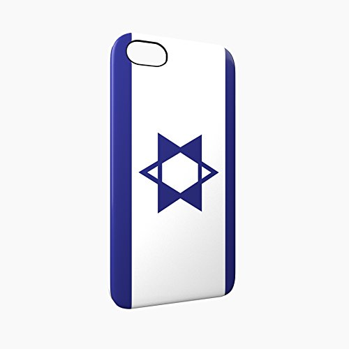 Flag of Israel Glossy Hard Snap-On Protective iPhone 5 / 5S / SE Case Cover