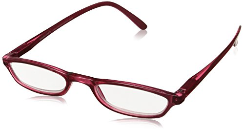 Peepers Unisex-Adult Snow Cone 473175 Oval Reading Glasses, Cherry - Oval Ovals Cone