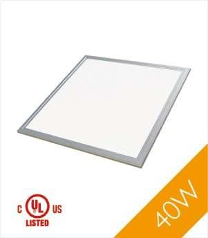 troffer 2 39 x2 39 40 watt ul dlc led panel light warm white 3000k 3210 lumens 1 pack. Black Bedroom Furniture Sets. Home Design Ideas