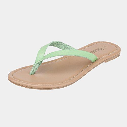 casa per l'estate Pantofole 4 femminile Slipper piatte la antiscivolo Pantofole per qgxwZw8SO