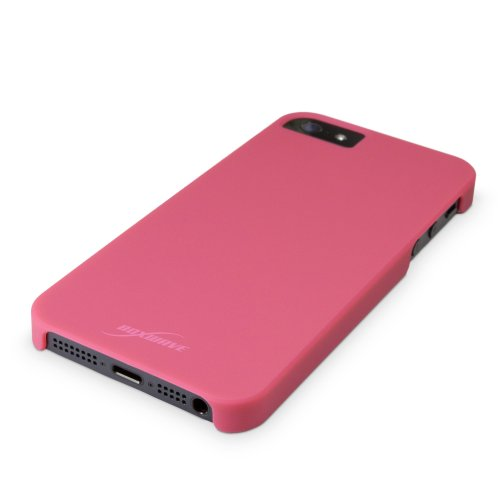 Coque Iphone se, BoxWave Minimus® [cas] Coupe Slim, se, Coque de protection en polycarbonate pour Apple iPhone 5S, 5 – Cosmo rose