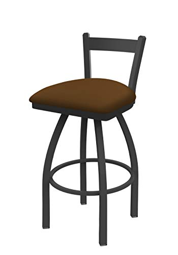 Holland Bar Stool Co. 82125PW001 821 Catalina Low Back Swivel Bar Stool, Canter - Bar Stool Trica Leather