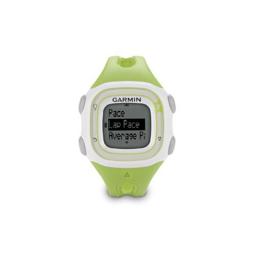Garmin Forerunner 10 GPS Watch - Green/White (Certified Refurbished)