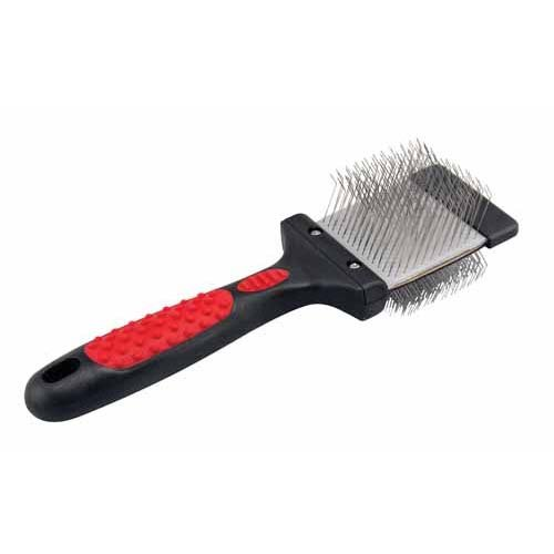 Paw Brothers Double Sided Soft Flex Slicker Brush, Small