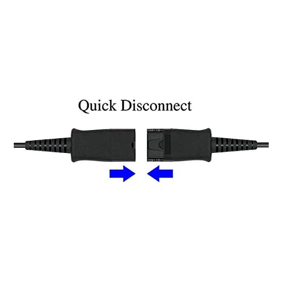DailyHeadset RJ9 Corded Phone Headset Corded Home Telephones Office Analog Phones Aastra Avaya Digium Mitel NEC Polycom… 317d1b6706L. SS555