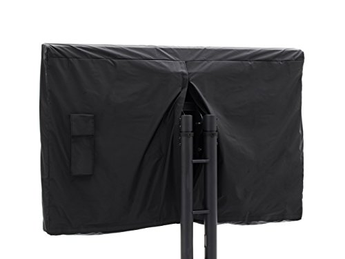 Covermates - Outdoor TV Cover - Fits 46 to 49 Inch TV's - Classic - 12-Gauge Vinyl With Polyester Backing - Full Coverage - Bottom And Back Velcro Closures - 2 Year Warranty - Water Resistant - Black by CoverMates