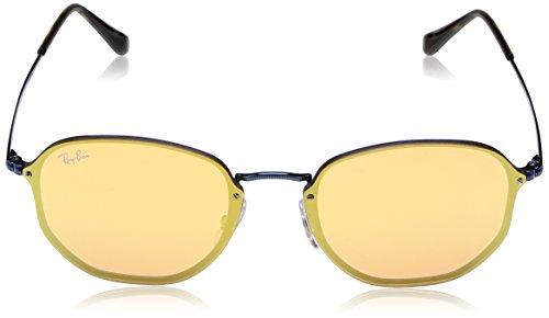 Ban Blaze Sonnenbrille 3579N RB Ray Hexagonal Blue HPSxPp