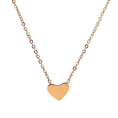 Chunky Heart Necklace - 5