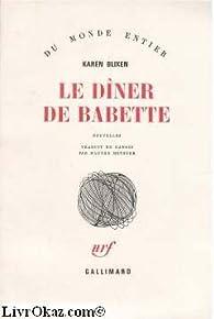 Le dîner de Babette par Karen Blixen