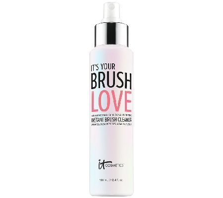 IT Cosmetics It's Your Brush Love Instant Brush Cleaner 3.4 oz. (Best Makeup Brush Cleaner 2019)