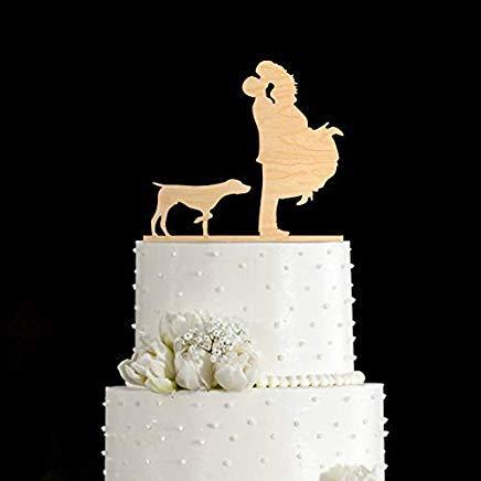 (Pointer Hunting Dogpointer Doggerman Shorthaired Pointerwedding Cake Topper with Dogdog Cake Topper Dog Wedding Cake Topper)