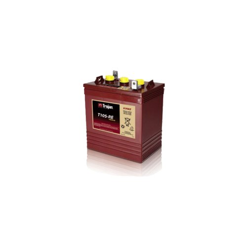 Trojan T105-RE Renewable Energy 6V GC2 Deep Cycle Battery 225Ah (Volt 6 Batteries Trojan)