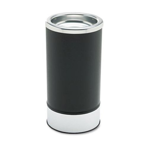Ex-Cell Round Sand Urn with Removable Tray, Black/Chrome (160) by excell O57216