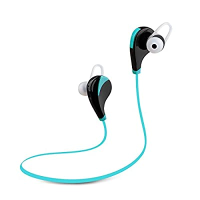 [2015 New Version]Kodas Bluetooth 4.0 Wireless Stereo Headphones Noise Cancelling Wireless Headphones with Microphone Handfree Sports / Running / Gym / Exercise/ Sweatproof Wireless Bluetooth Earbuds Headset Earphones for Iphone 6 6plus 5s 5c 4s 4, Ipad 2