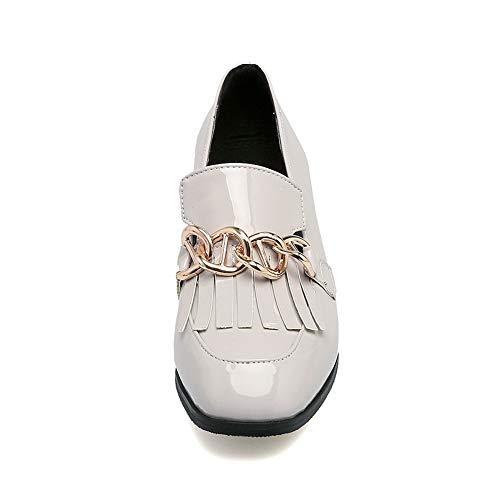5 Gris Femme BalaMasa Gris Compensées Sandales APL10601 EU 36 7CwqAz