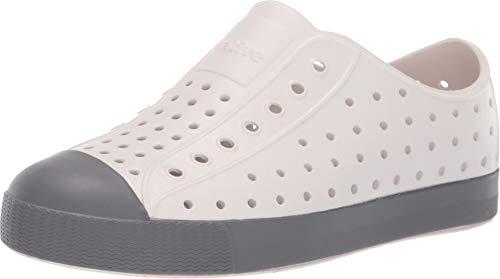 Native Kids Shoes Unisex Jefferson (Little Kid/Big Kid) Cloud Grey/Dublin Grey 5 M US Big - Feet Beast