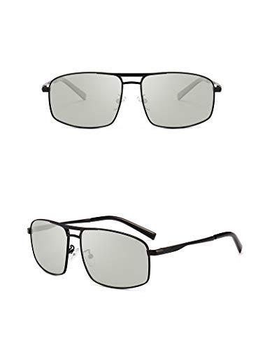 de protección Gun Black Color Gafas para Almohadillas Ruiyue Nariz la Hombres Color UV400 Gafas Sol Gafas polarizadas Moda Transpirable Espejo Viaje para de de conducción Zwgdwq7