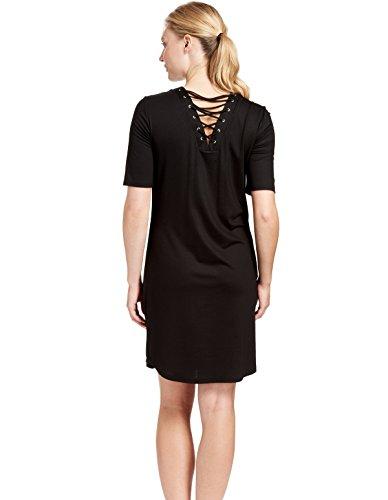 3185099 Black Dress Women's Cover Beach up 11699 Feraud Pearl Black Kaftan dSUW0gdAa