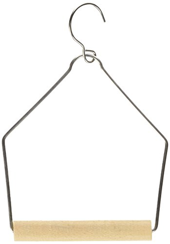 Wooden Bird Swing (Living World Wooden Perch Swing, 3-Inch by 4-Inch)