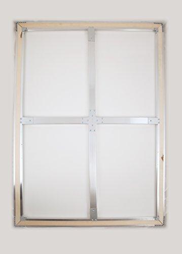 Tri-Mar True Professional 2 pack of 36x48 inch Pre-Stretched Aluminum Stretchers 100% Keyable by Tri-Mar True