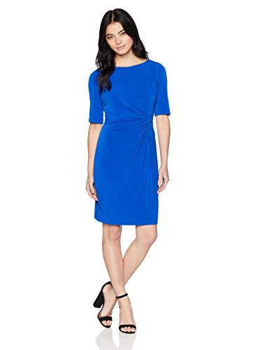 See the TOP 10 Best<br>Blue Side-Ruched Dress