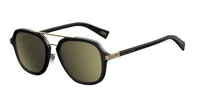marc-jacobs-marc172s-aviator-sunglasses-black-gold-brown-gold-sp-54-mm