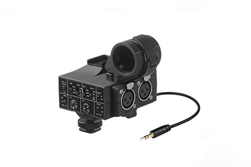 Saramonic 2-Ch XLR Audio Adapter with Gain Control Audio Adapter (Mix-Adapter)