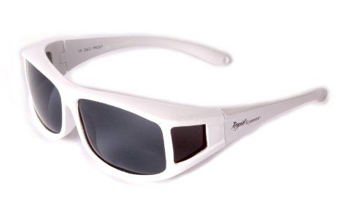 Conducción Gafas Blancas los Deportes el y la Rapid Ocio se Sol HOMBRES Gafas POLARIZADA Y Eyewear Incluyendo Sobre Para DAMAS Uso las Colocan que UV400 de Aq6x8aSAw