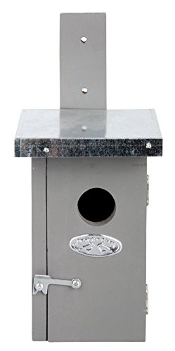 Esschert Design Wren Nesting Box, Gray