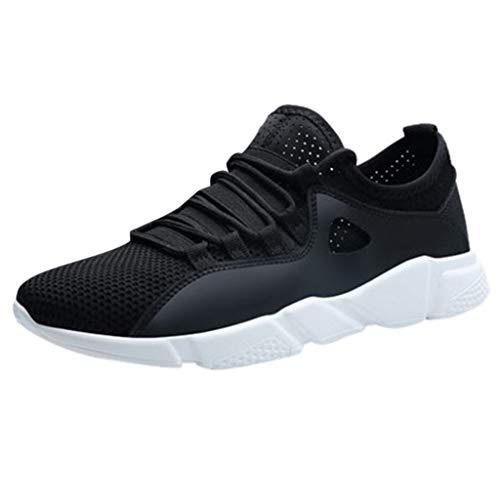 JJLIKER Men's Summer Lightweight Breathable Sneakers Mesh Walking Shoes Fashion Athletic Walking Footwear