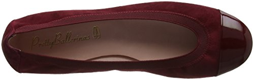 Pretty Ballerinas Women's Shirley Ballet Flats Red (Shade Lava Angelis Adele) Y2ZoQOFkL